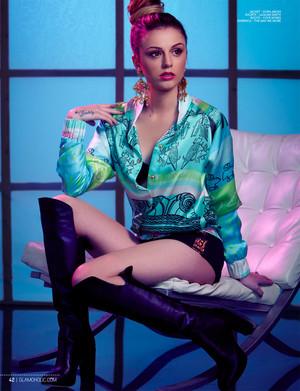 "Cher Lloyd ""GLAMOHOLIC"" ছবি Shoot (2014)"