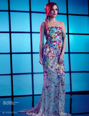 "Cher Lloyd ""GLAMOHOLIC"" Photo Shoot (2014)"