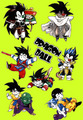 চিবি Dragon Ball Z