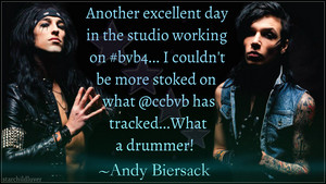 Christian Coma and Andy Biersack