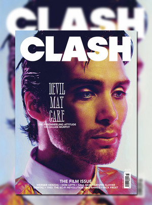 Cillian Murphy covers the new film edition of Clash magazine.