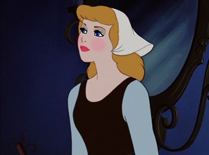 Cinderella's straight-forward look