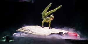 Cirque du soleil MJ immortal world tour contortionist