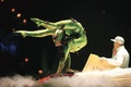 Cirque du soleil Michael Jackson immortal world tour contortionist