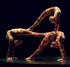 Cirque du soleil kooza contortion act