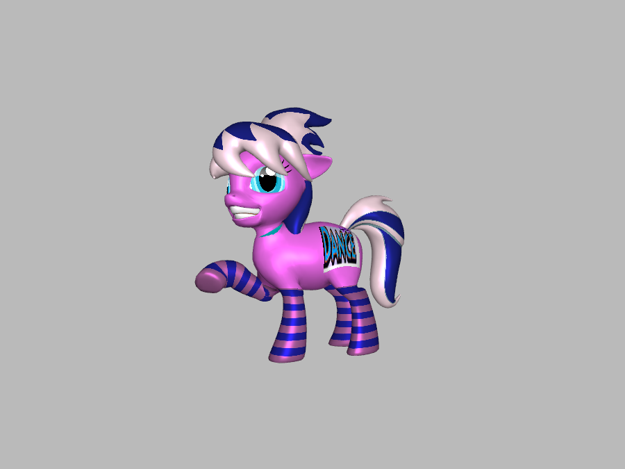 Club Step from 3D Pony Creator - My Little Pony Friendship