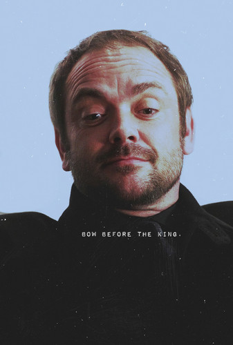 supernatural fondo de pantalla entitled Crowley