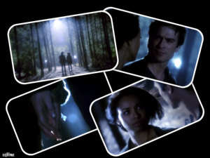 Damon and Bonnie 5x22