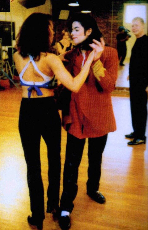 Dance Rehearsal For Quot Blood On The Dancefloor Quot Michael Jackson S Blood On The Dance Floor Photo