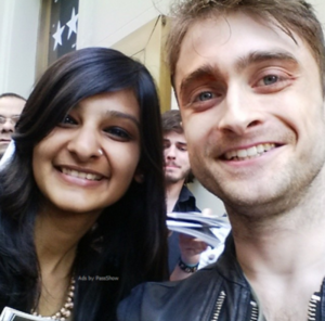 Daniel Radcliffe Selfies With ファン (Fb.com/DanieljacobRadcliffefanClub)