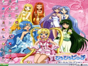 Desktop wolpeyper Mermaid Melody
