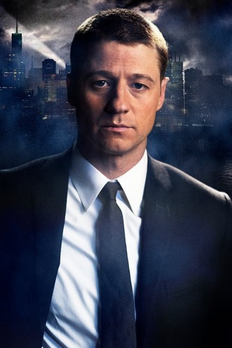 Gotham wallpaper with a business suit and a suit titled Detective James Gordon