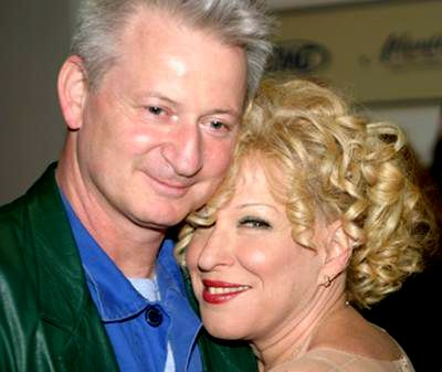Disney Actress, Bette Midler And Husband Martin Von Hasselberg