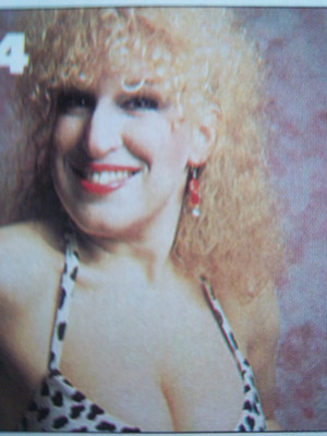 disney Actress, Bette Midler