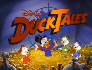 "迪士尼 Cartoon, ""Ducktales"""