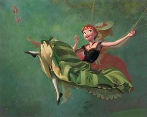 Disney Fine Art - Art Imitates Art by Jim Salvati
