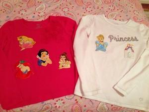 Disney Princes Fashion Attire For Little Girls