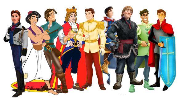 डिज़्नी Princes