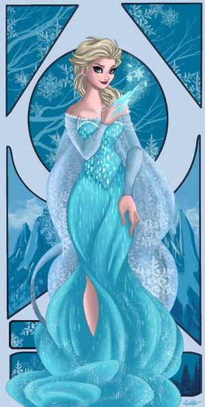迪士尼 Princess, Elsa