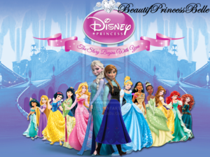 Walt Disney peminat Art - Disney Princesses