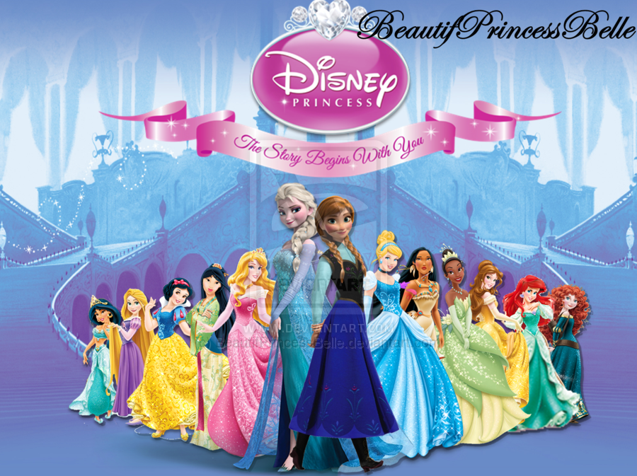 Walt Disney Fan Art - Disney Princesses