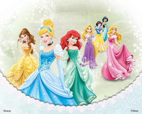 disney princess images disney princesses wallpaper hd wallpaper and background photos 37042975. Black Bedroom Furniture Sets. Home Design Ideas