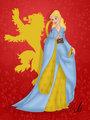 Disney-ized Cersei Lannister