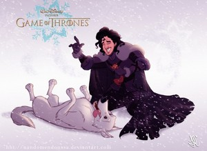 Disney-ized Jon Snow