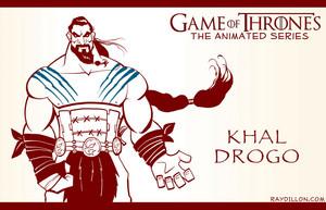 Disney-ized Khal Drogo