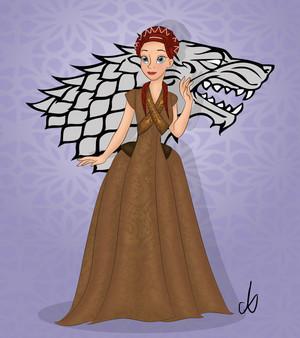 Disney-ized Sansa Stark