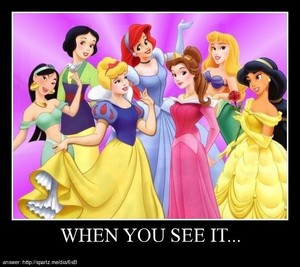 Disney princess mix up