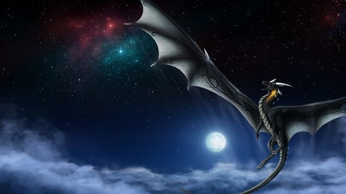 Fantasy wallpaper entitled Dragon