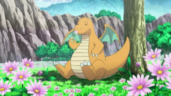 Pokemon Wallpaper Possibly With A Bouquet Entitled Dragonite