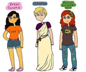 Drew Tanaka, Octavian, Rachel Elizabeth Dare