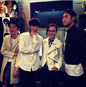EPIK HIGH x BiBiZhou(周笔畅) - WITH anda Making