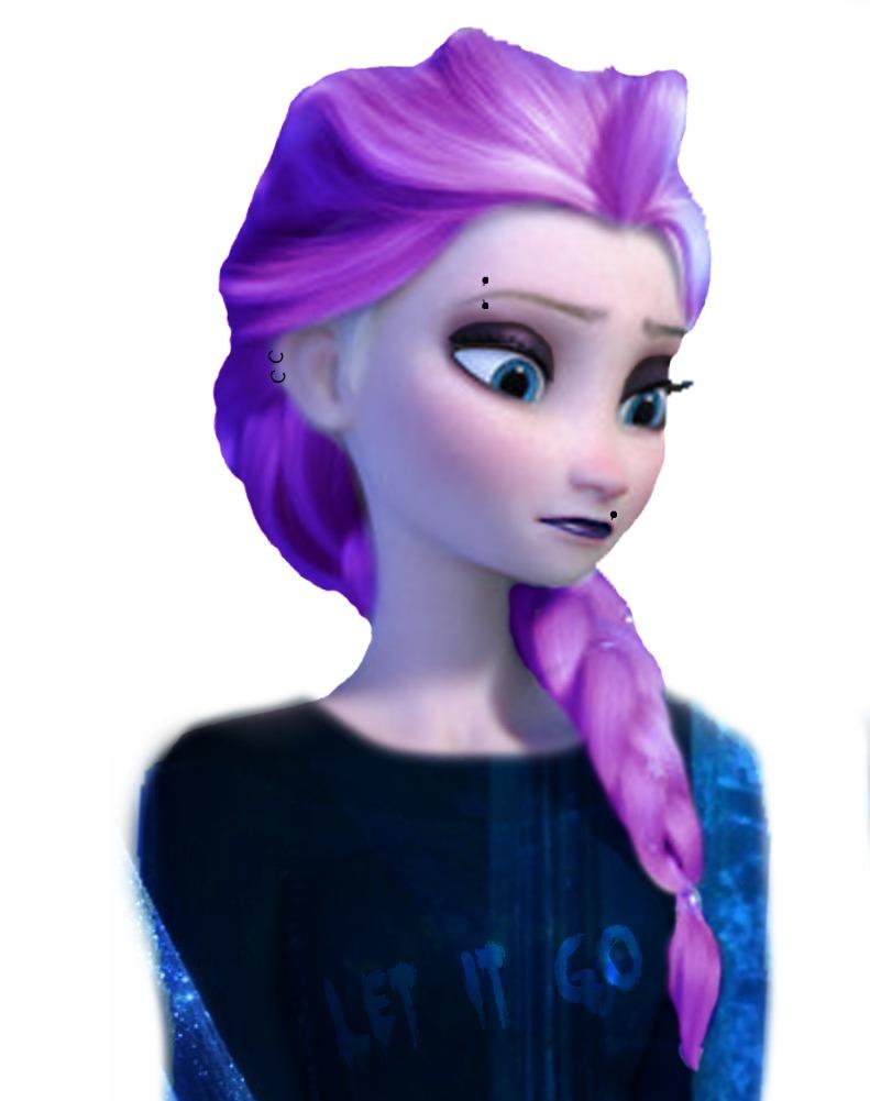 Elsa punk edit