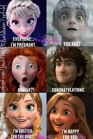 Elsa's pregnant.. again