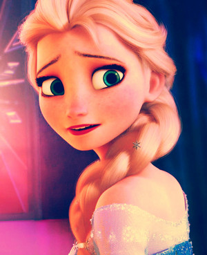 Elsa sings For the First Time in Forever Reprise