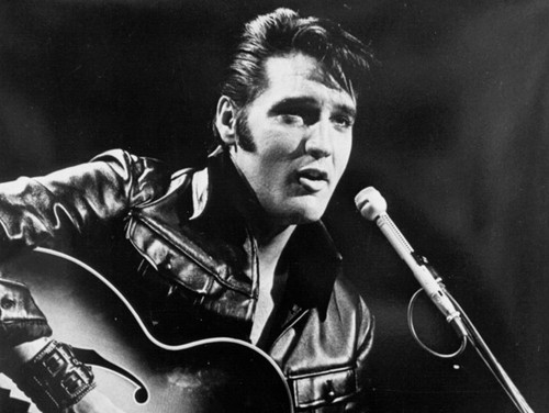 elvis presley wallpaper with a guitarist and a show, concerto entitled Elvis Presley