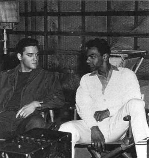 Elvis Talking With Johnny Mathis