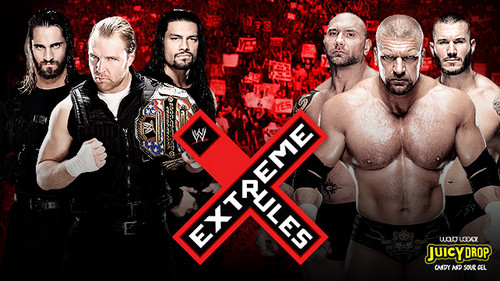 The Shield (WWE) wallpaper entitled Extreme Rules: The Shield vs Evolution