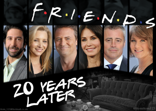 Friends wallpaper possibly containing a sign and a business suit titled Friends 2014 Poster