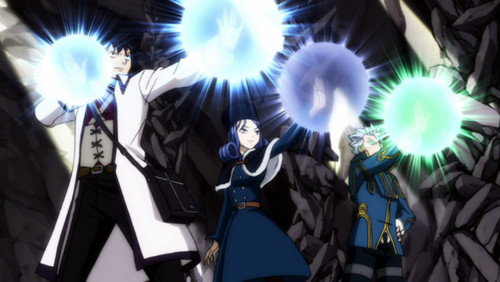 페어리 테일 바탕화면 entitled Fairy Tail: Gray, Juvia and Lyon
