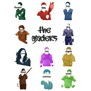 Fanart of the characters