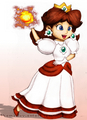 Fire Daisy - princess-daisy fan art