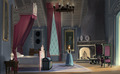 Frozen - Uma Aventura Congelante - Early Concept for Anna's Bedroom