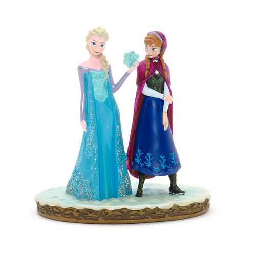 Princess Anna kertas dinding entitled Frozen - Anna and Elsa Figurine