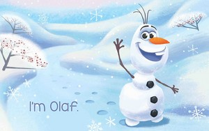 Frozen Olaf new book