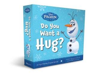 Холодное сердце Olaf new book