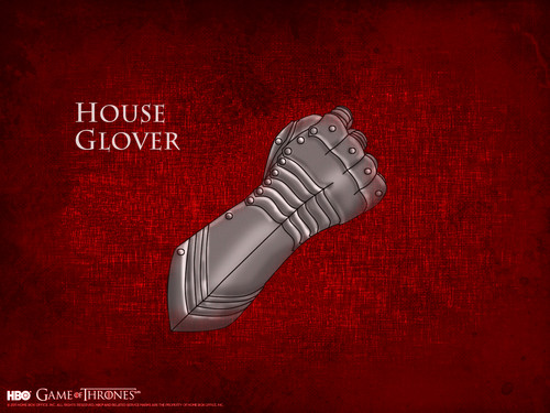 Game of Thrones wallpaper entitled House Glover